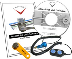 Lock Management Kit: Software CD, Manual, Blue Dot Receptor and Management iButton